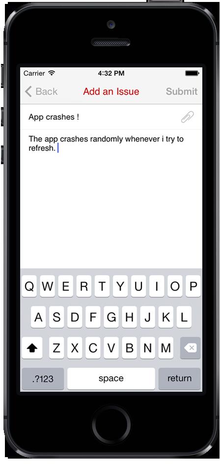 Open source mobile app customer support & In app feedback Management